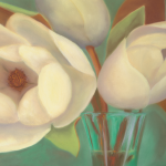 Vase of Magnolias